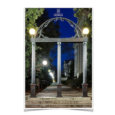 Georgia Bulldogs - Through the Arch - College Wall Art #Poster