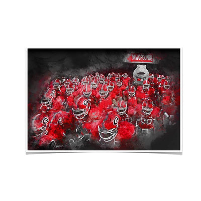 Georgia Bulldogs - Dawg Pound - College Wall Art #Poster
