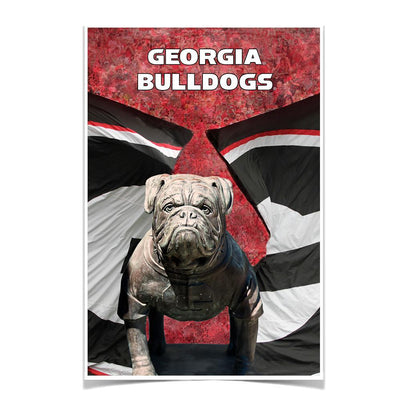 Georgia Bulldogs - Georgia Bulldogs - College Wall Art #Poster