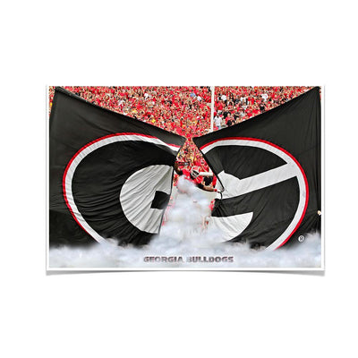 Georgia Bulldogs - Grand G Entrance - College Wall Art #Poster