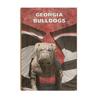 Georgia Bulldogs - Georgia Bulldogs - College Wall Art #Wood