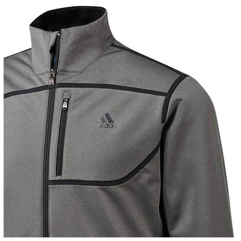 Adidas Golf Climastorm Ribbed Softshell Grey Four Vêtements de pluie Adidas