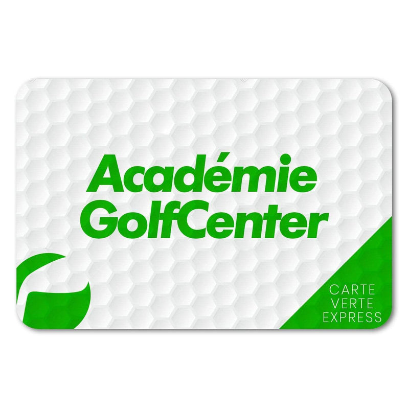 Carte Verte Express e-Carte Golf Center