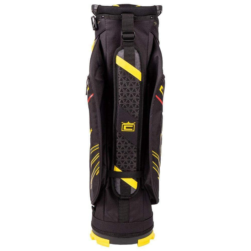 Cobra Golf sac chariot Ultralight Cart Bag Black Yellow Sacs chariot Cobra Golf