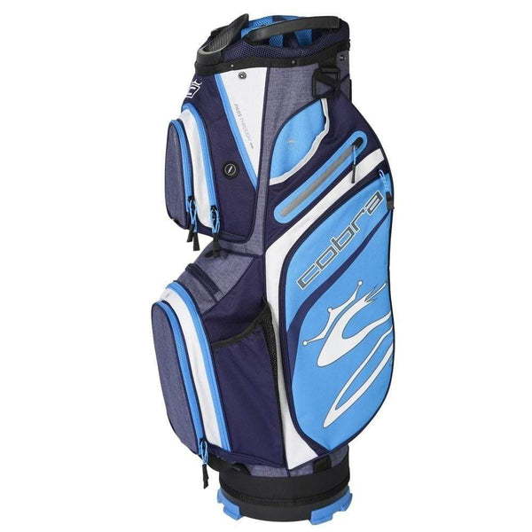Cobra Golf sac chariot Ultralight Cart Bag peacoat ibiza blue Sacs chariot Cobra Golf