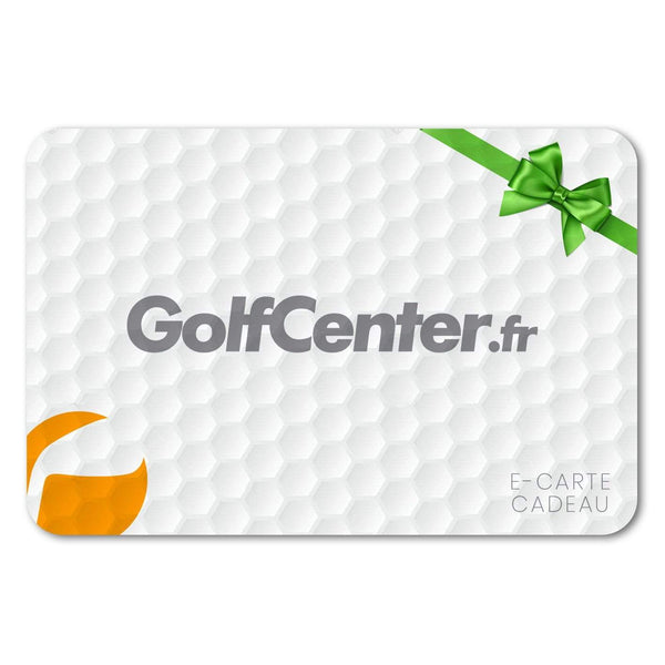e-Carte Cadeau GolfCenter e-Carte Golf Center
