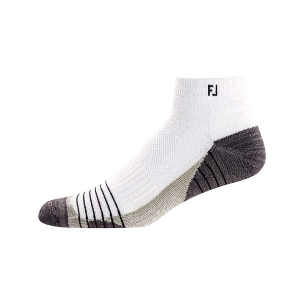FOOTJOY Chaussettes TechSof Tour Quarter White (Pack de 3 paires) FootJoy