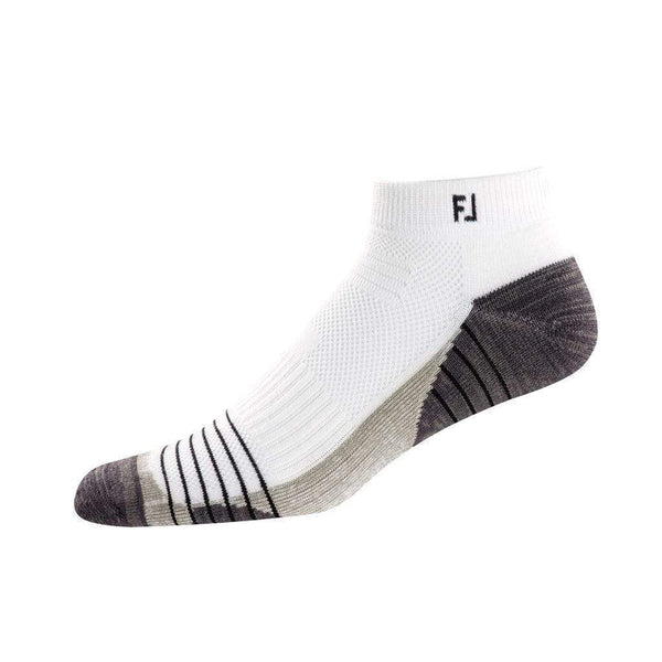 FOOTJOY Chaussettes TechSof Tour Sport White (Pack de 3 paires) FootJoy