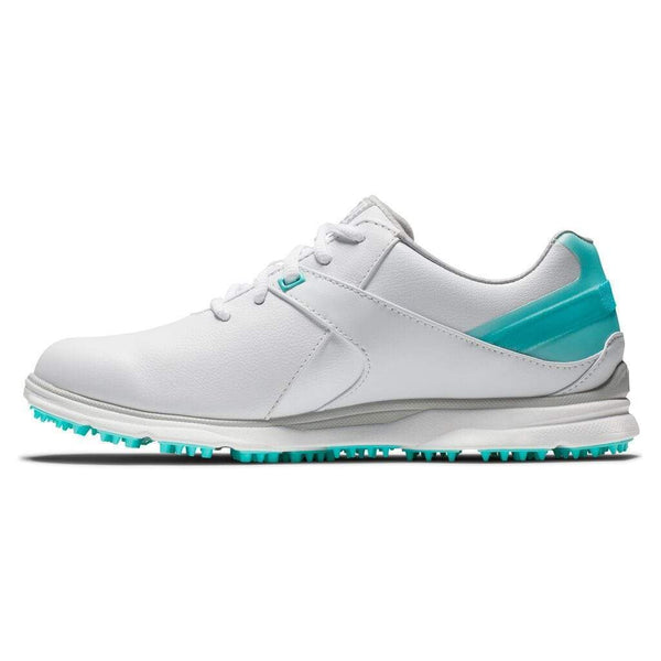Footjoy Chaussure PRO|SL 2020 Femme Blanche Turquoise Chaussures femme FootJoy