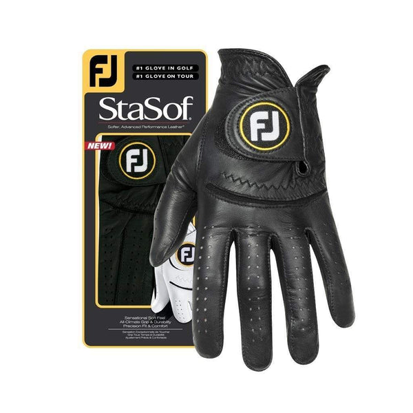 Footjoy gant StaSof black (pack de 3 gants) Gants de golf FootJoy