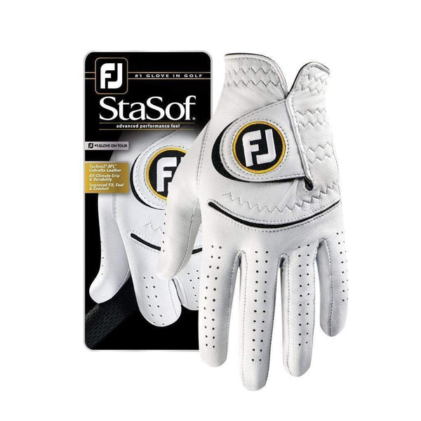 Footjoy gant StaSof blanc (pack de 3 gants) Gants de golf FootJoy