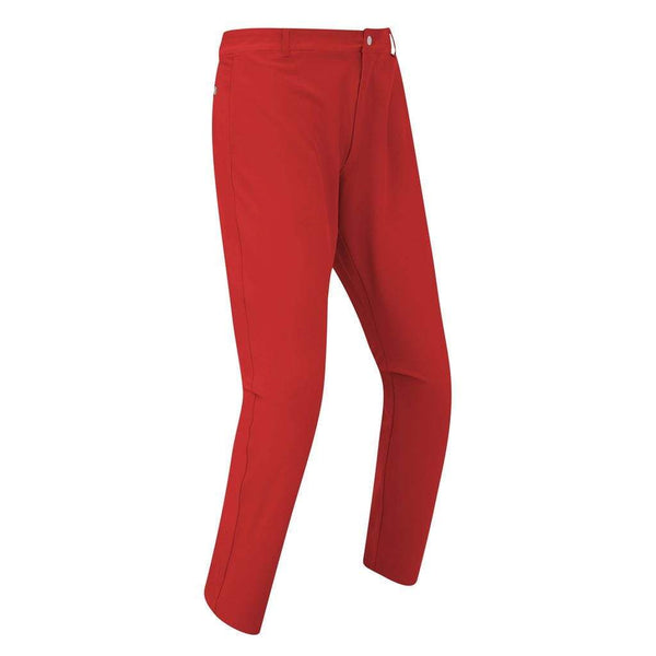 Footjoy pantalon SLIM FIT LITE 2019 rouge Pantalons homme FootJoy