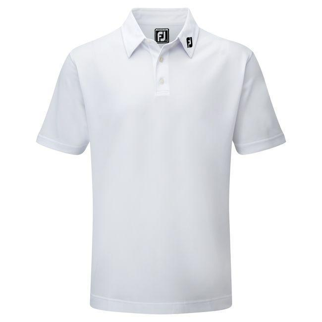 footjoy polo Stretch Pique solid blanc Polos FootJoy