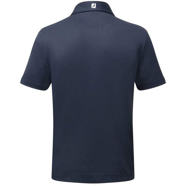 Footjoy polo Stretch Piqué Solid navy Polos FootJoy
