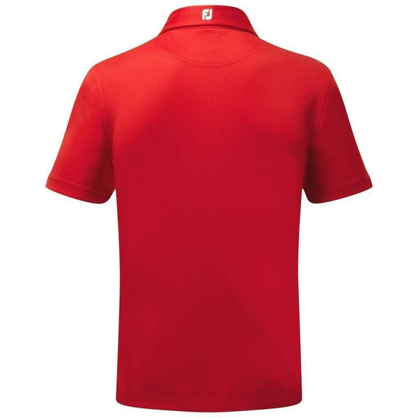 Footjoy polo Stretch Piqué Solid Rouge Polos FootJoy
