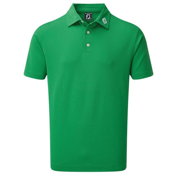 FOOTJOY POLO STRETCH PIQUE SOLID VERT Polos FootJoy