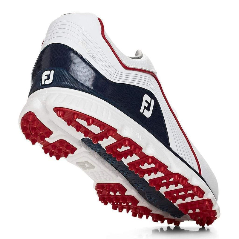 FootJoy PRO|SL Navy red white 2019 Chaussures homme FootJoy