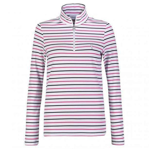 GOLFINO THE MELISSA TROYER (STRIPED DRY COMFORT) golfino