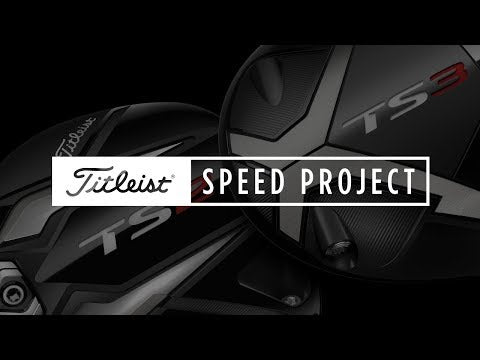 Titleist Driver TS3 Shaft HZDUS Smoke Black