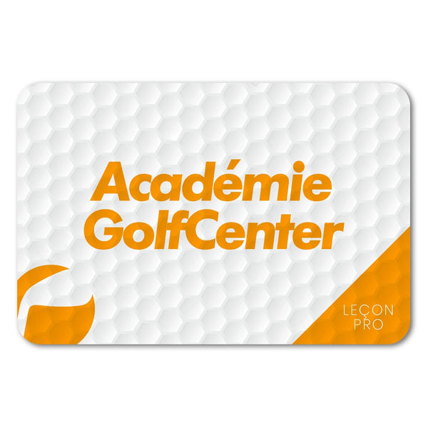 Leçon individuelle ou Duo e-Carte Golf Center