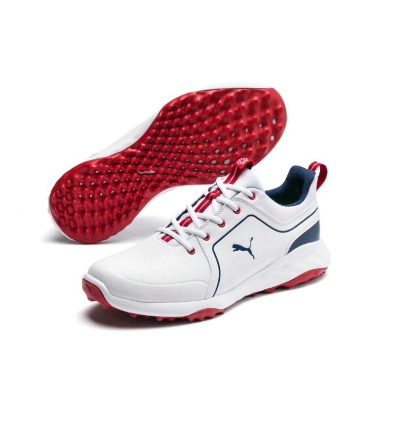 PUMA GRIP FUSION 2.0 blanche rouge Chaussures homme puma