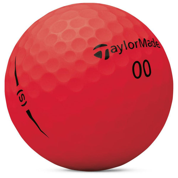 TaylorMade Balles Project (S) rouge (boite de 12) Balles TaylorMade