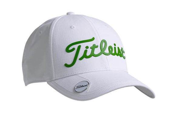 titleist Casquette Performance Ball Marker White Green Casquettes Titleist