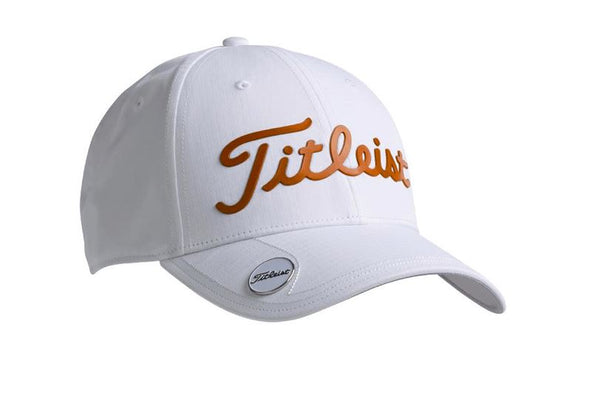 titleist Casquette Performance Ball Marker White Orange Casquettes Titleist