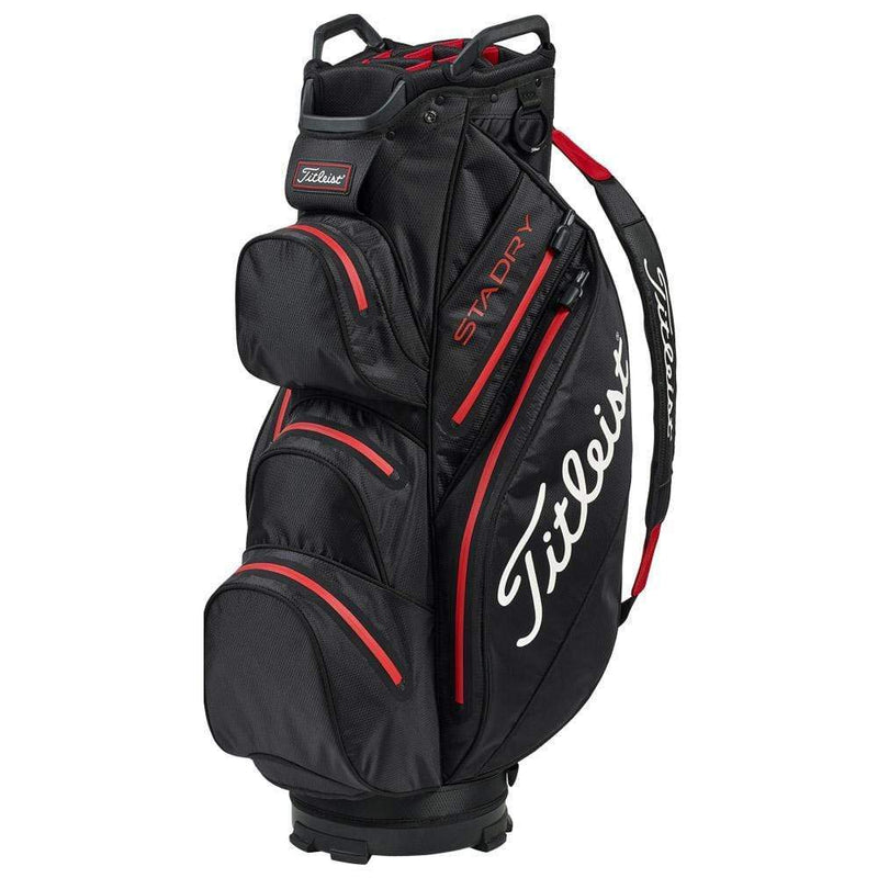 Titleist Sac Chariot STADRY™ Black Red Sacs chariot Titleist