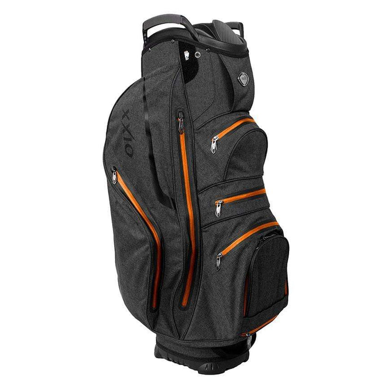 XXIO PREMIUM CART BAG IMPERMEABLE BLACK ORANGE Sacs chariot Xxio