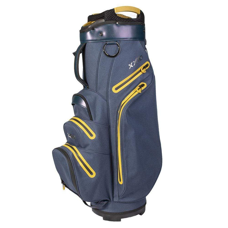 XXIO PREMIUM CART BAG IMPERMEABLE NAVY GOLD Sacs chariot Xxio