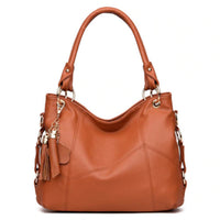 Soft Leather Retro Tote Shoulder Bags - Lovely Mary Bags Store