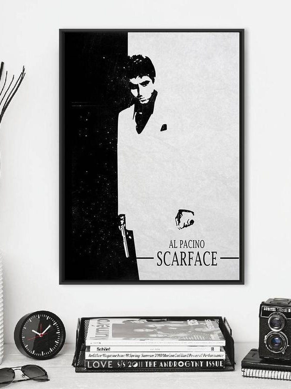 Scarface Poster Buy Minimalist Movie Prints Posters Online