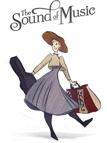 The Sound of Music Art | Buy Quality Movie Art Prints Online