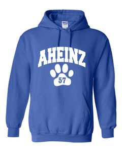 AHEINZ 57 Collegiate Logo - Heavy Blend Hooded Sweatshirt