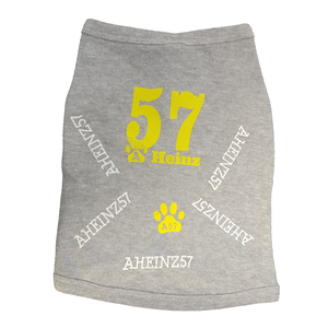 CLOSEOUT Pooch Apparel - A57 logo and paws every Shirt is UNIQUE