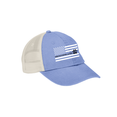 Rescue. Foster. Adopt. Flag Design Cap - 2 Colors