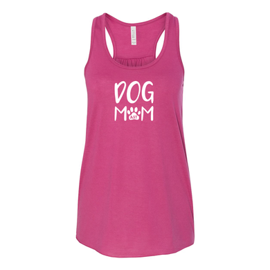Dog Mom Ladies' Flowy Tank - 8 Colors