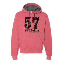 Large 57 Striped Unisex Hoodie - 2 Colors