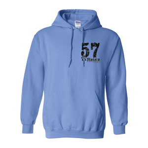 57 Left Chest - Unisex Hoodie - 6 Colors