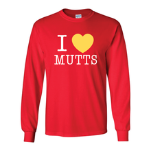 I Heart Mutts Long Sleeve T - 5 Colors