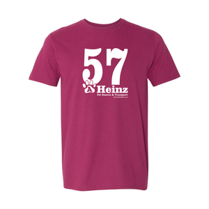 57 Full Front Logo Short Sleeve T-Shirt - 6 Colors