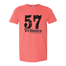 Black 57 Full Front Short Sleeve T-Shirt - 5 Colors