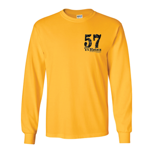 57 Left Chest Long Sleeve T - 5 Colors