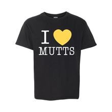 YOUTH: I Heart Mutts Full Front Short Sleeve T - 6 Colors