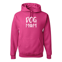 Dog Mom Jerzees Fleece Pullover Hoodie - 5 Colors
