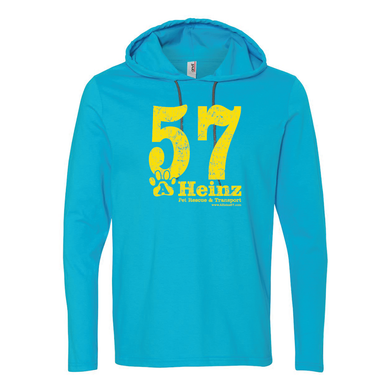 57 Full Front - Unisex Long Sleeve Hoodie T - 5 colors