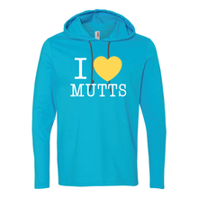 I Heart Mutts - Unisex Long Sleeve Hoodie T - 5 Colors