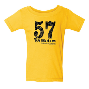 TODDLER: 57 Full Front Short Sleeve T - 3 Colors