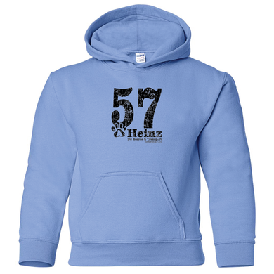 YOUTH: 57 Full Front Hoodie - 4 Colors